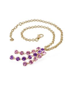 AZ Collection | Amethyst Plated Necklace