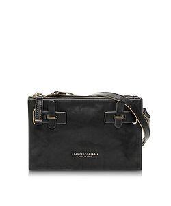 Francesco Biasia | Hampstead Onyx Leather Crossbody Bag