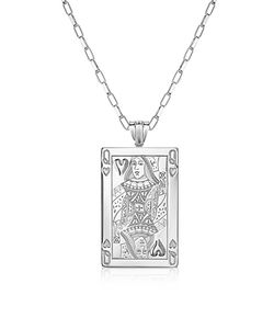 Sho London | Sterling Queen Of Hearts Necklace