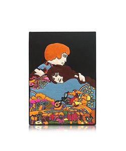 Olympia Le-Tan | Romeo Juliet Клатч Книжка Из Меди С Покрытием Из Ткани