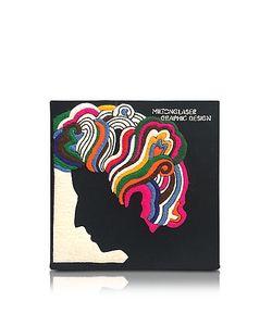 Olympia Le-Tan | Milton Glaser Клатч Книжка Из Меди С Покрытием Из Ткани