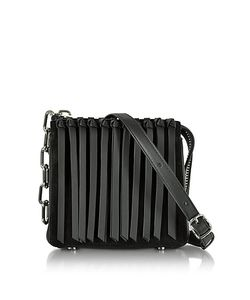 Alexander Wang | Leather Attica Flap Crossbody Bag W/Fringe