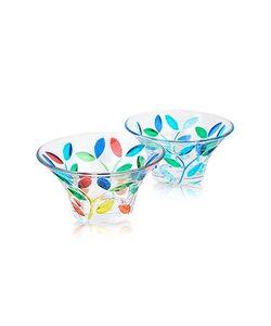 Due Zeta | Rialto Hand Decorated Murano Glass Small Bowl
