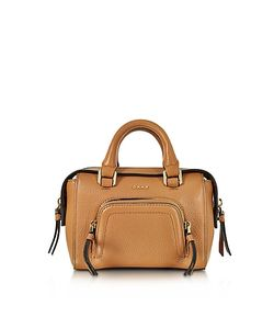 DKNY | Chelsea Vintage Style Copper Leather Mini Satchel Bag