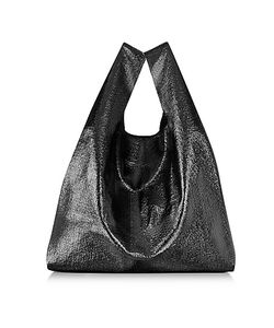 MM6 Maison Martin Margiela | Glossy Eco Leather Tote
