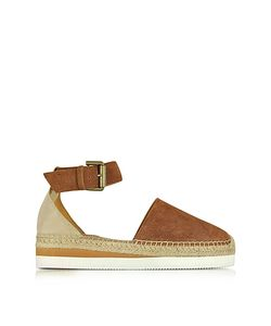 See by Chloé | Suede Flat Sandal Espadrilles