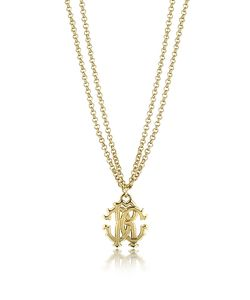 Roberto Cavalli | Rc Icon Metal Necklace W/Double Chain