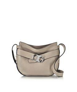 Tory Burch | Gemini Link Belted French Leather Small Hobo
