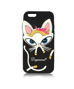 Dsquared2 | Silicone Iphone 6 Cover W/Cat