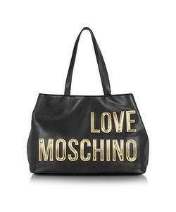 Love Moschino | Eco Leather Tote Bag W/Signature Logo