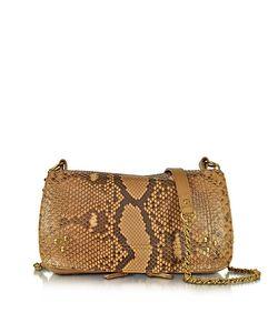 Jerome Dreyfuss   Bobi En Python Leather Shoulder Bag