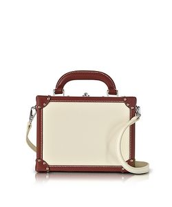 BERTONI 1949 | Avorio Mini Squared Bertoncina Satchel Bag