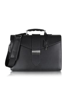 Giorgio Fedon 1919 | New Class Leather Briefcase W/Shoulder Strap