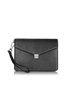Giorgio Fedon 1919 | New Class Leather Clutch W/Wristlet