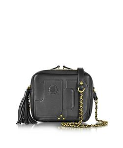 Jerome Dreyfuss | Pascal Leather Small Square Crossbody Bag