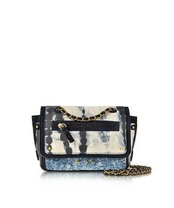 Jerome Dreyfuss | Benji Tie Dye Caviar Leather Mini Crossbody Bag