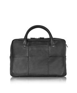Giorgio Fedon 1919 | British Leather Briefcase W/13 Laptop Compartment