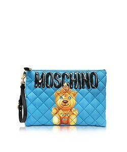 Moschino | Teddy Bear Nylon Clutch