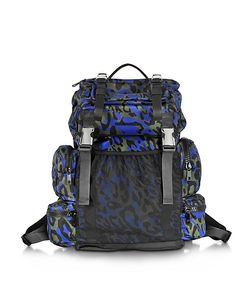 Dsquared2 | Glam Leo Printed And Nylon Backpack