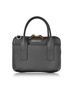 Giorgio Fedon 1919 | Bubble Double Handles Mini Bag W/Shoulder Strap