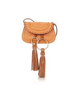 See by Chloé | Polly Hazel Leather Mini Crossbody Bag W/Tassels