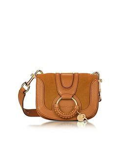 See by Chloé | Hana Passito Leather Suede Crossbody Bag