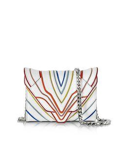 Elena Ghisellini | Felina Mignon Multilines Leather Clutch
