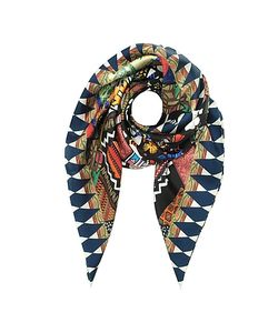 Christian Lacroix | And Ivory Love Printed Silk Square Scarf