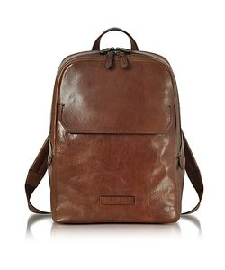 The Bridge | Marrone Leather Backpack