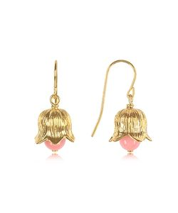 Aurelie Bidermann | 18k Plated Lily Of The Valley Earrings W Bamboo Pearl
