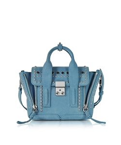 3.1 Phillip Lim | Pashli French Suede Mini Satchel Bag W/Studs