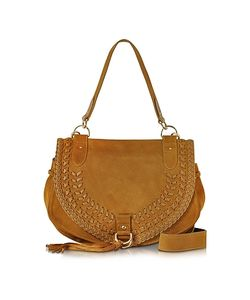 See by Chloé | Collins Passito Suede Shoulder Bag W/Tassels
