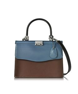 Rodo | And Chocolate Nappa Leather Top Handle Paris Bag