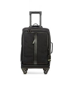 BRIC'S | Nylon And Leather 22 Soft Cabin Trolley