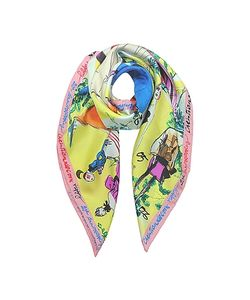 Christian Lacroix | 20 Ans Pure Silk Womnens Square Scarf