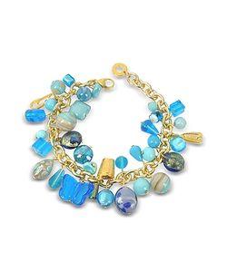 Antica Murrina | Marilena Murano Glass Marine Charms Bracelet