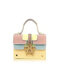 GIANCARLO PETRIGLIA | Sabrina P Bag Color Block Leather Satchel