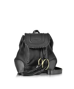 See by Chloé | Polly Leather Backpack W/Tassels