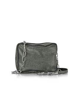 MM6 Maison Martin Margiela | Micro Studded Canvas Shoulder Bag
