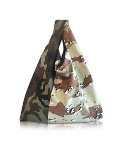 MM6 Maison Martin Margiela | Camouflage Canvas Market Bag