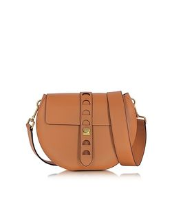 Coccinelle | Carousel Large Cuoio Leather Crossbody Bag