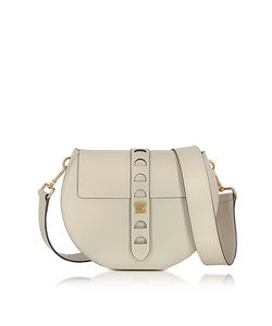 Coccinelle | Carousel Large Seashell Leather Crossbody Bag