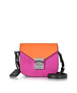 MCM   Patricia Atomic And Electric Leather Mini Shoulder Bag