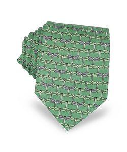 Laura Biagiotti | Dragonflies Print Twill Silk Tie