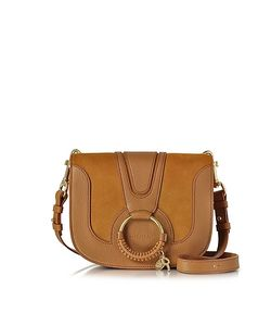 See by Chloé | Hana Passito Leather And Suede Crossbody Bag