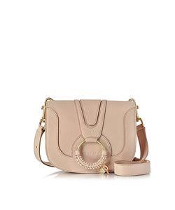 See by Chloé | Hana Powder Leather Crossbody Bag