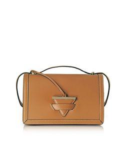 Le Parmentier | Diodora Shoulder Bag W/Golden Triangle Charm