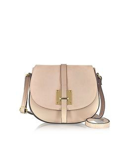 Le Parmentier | Leather And Suede Crossbody Bag