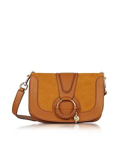 See by Chloé | Hana Passito Leather Suede Shoulder Bag