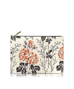 Victoria Beckham | Printed Leather Large Simple Pouch
